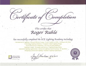 SCE Lighting Academy 8-2012